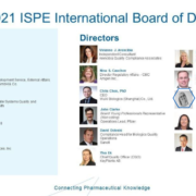 Teresa Minero is one of the New Director of the International Board of Directions of ISPE 2020-2022