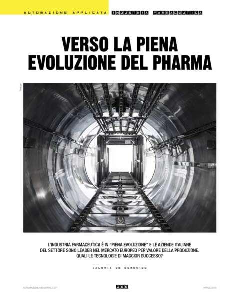 Verso la Piena Evoluzione Del Pharma - Automazione industriale - 2019
